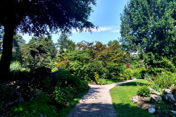 The Jardin Botanique in Geneva, Switzerland.