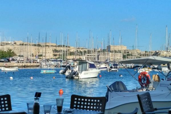 The Marina in Gzira, Malta