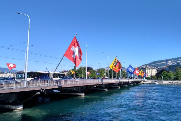 A walk through Geneva, Switzerland.