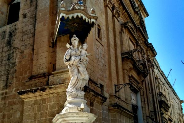 Holy Mary in Mdina, Malta
