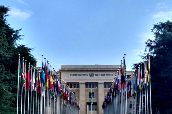 United Nations in Geneva, Switzerland.