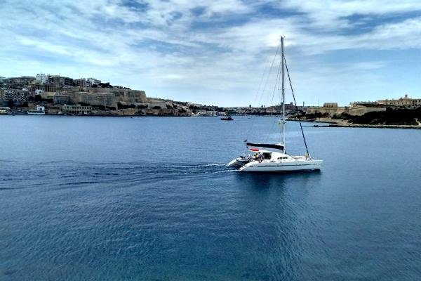 Views of Valletta, Malta from Sliemma, Malta